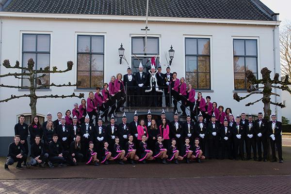 Groepsfoto C.V. de Spruwwejagers