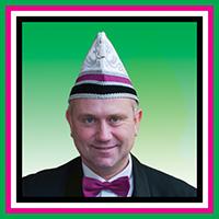 Secretaris Jeroen van Dijk