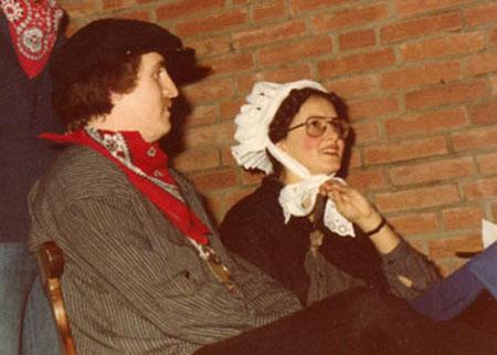Boerenbruidspaar 1980
