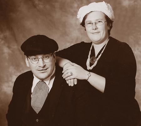 Boerenbruidspaar 1997