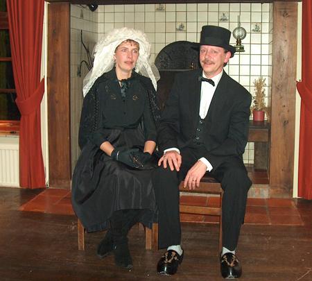 Boerenbruidspaar 2005