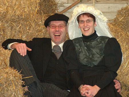 Boerenbruidspaar 2006