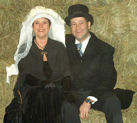 Boerenbruidspaar 2007