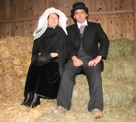 Boerenbruidspaar 2008