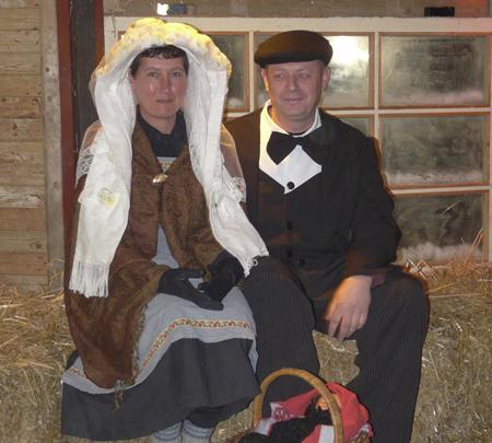Boerenbruidspaar 2009