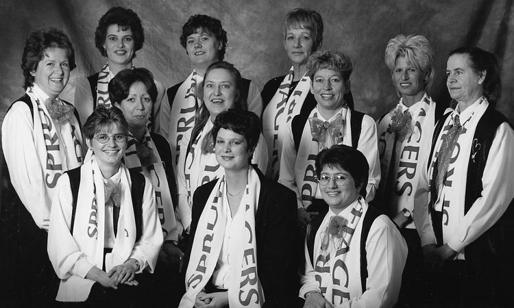 Dames C.V. de Spruwwejagers 1997