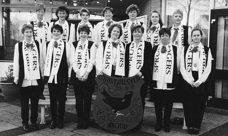 Dames C.V. de Spruwwejagers 1998