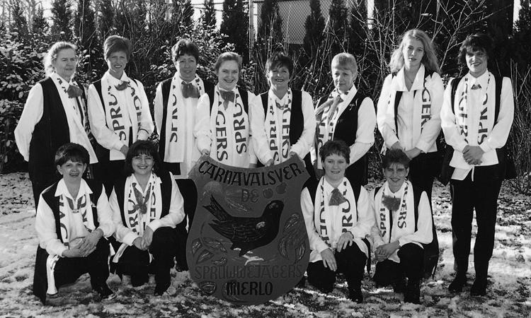 Dames C.V. de Spruwwejagers 1999