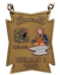 Onderscheiding Prins Wiljan d'n Urste