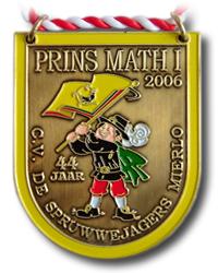 Onderscheiding Prins Math d'n Urste