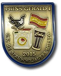 Onderscheiding Prins Gerald d'n Urste