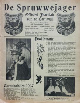 1967 Carnavalskrant
