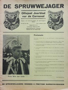 1969 Carnavalskrant