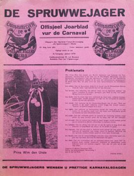1970 Carnavalskrant