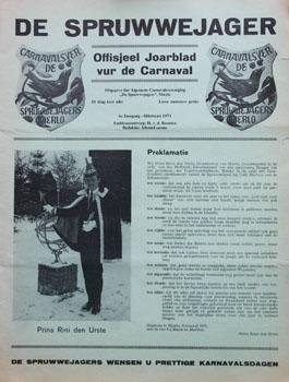 1971 Carnavalskrant