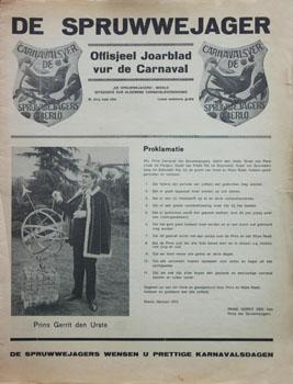 1972 Carnavalskrant