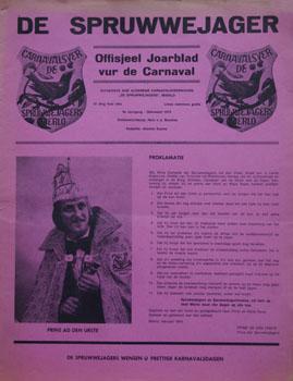 1974 Carnavalskrant
