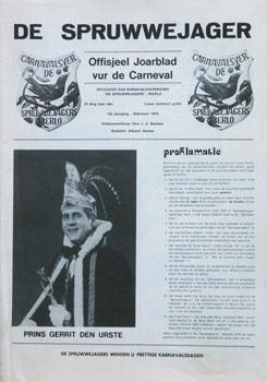 1979 Carnavalskrant