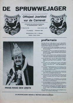 1982 Carnavalskrant