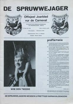 1983 Carnavalskrant