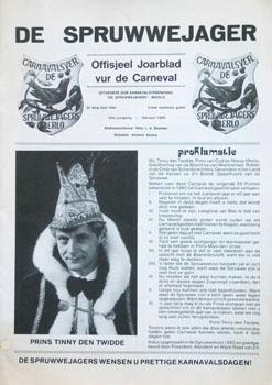 1985 Carnavalskrant