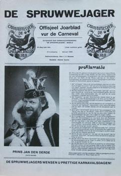 1986 Carnavalskrant