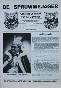 1987 Carnavalskrant