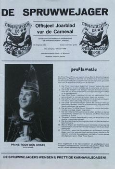 1989 Carnavalskrant