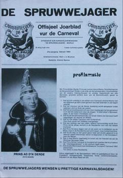 1992 Carnavalskrant