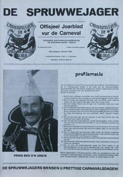 1993 Carnavalskrant
