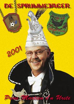 2001 Carnavalskrant