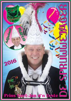 2016 Carnavalskrant